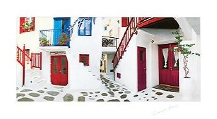 Colorful Doors by George Meis art print
