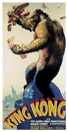 King Kong, c.1933 art print