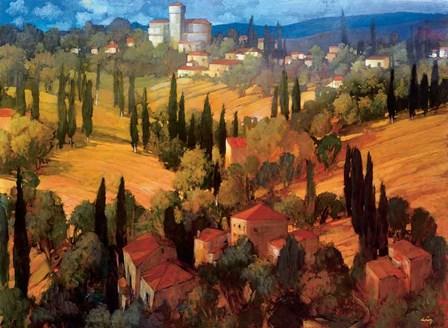 Tuscan Castle by Philip Craig art print