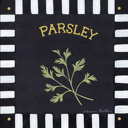 Parsley by Becca Barton art print