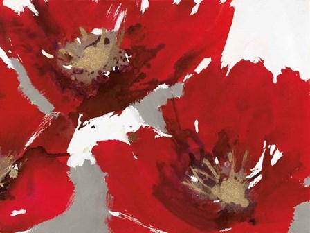 Red Poppy Forrest II by Natasha Barnes art print