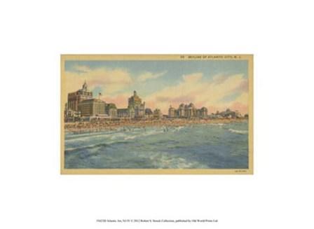 Atlantic City, NJ- IV art print