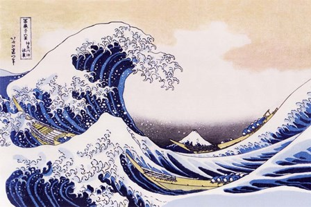 Great Wave Of Kanagawa by Katsushika Hokusai art print