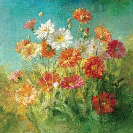 Painted Daisies by Danhui Nai art print
