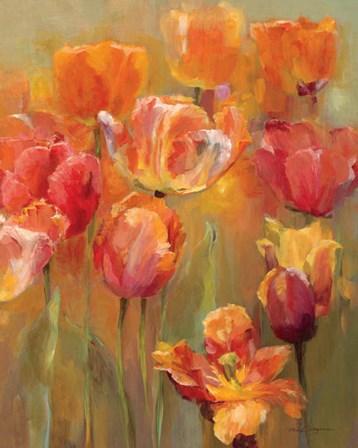 Tulips in the Midst II by Marilyn Hageman art print
