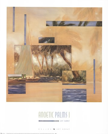 Anoetic Palms I by Jeff Surret art print