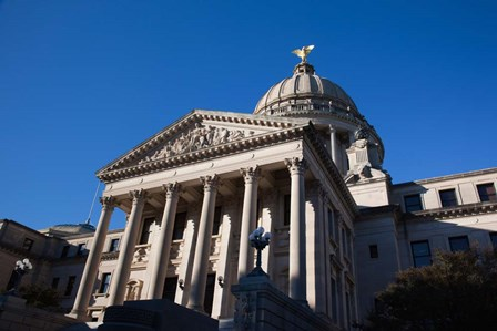 Mississippi State Capitol, Jackson, Hinds County, Mississippi by Panoramic Images art print
