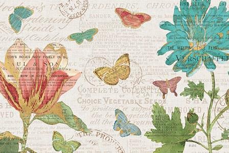 Bookshelf Botanical I by Katie Pertiet art print