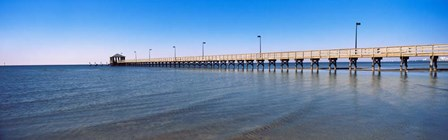 Pier in Biloxi, Mississippi by Panoramic Images art print