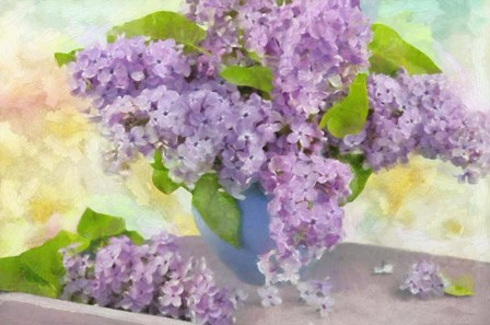 Lilacs in a Vase by Cora Niele art print